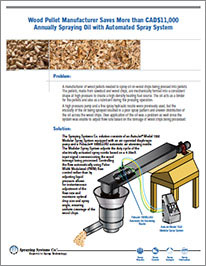 CS176 Wood Pellet Mfg Saves