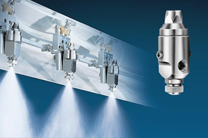 automatic air atomizing spray nozzles