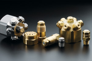product grouping of fine spray nozzles