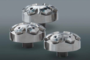 stainless steel SteamMax nozzles