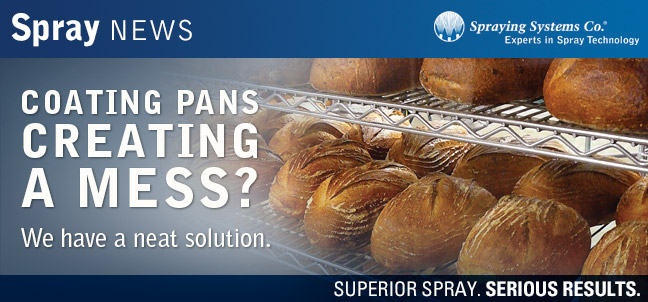 Coating pans creating a mess? We have a neat solution.